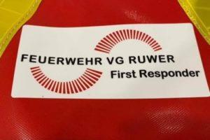 Neue First Responder für die Verbandsgemeinde Ruwer